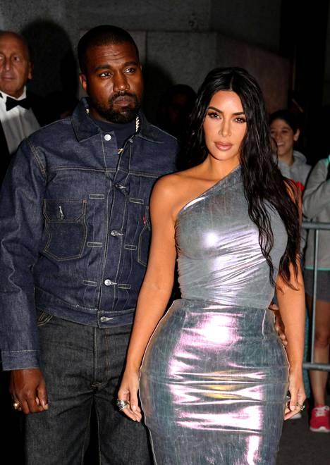 Kanye West ja Kim Kardashian kuvattuna vuonna 2019.