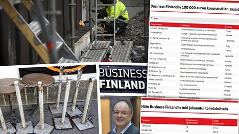Business Finlandin johtajan Reijo Kankaan mukaan koronatukia on ehdityt maksaa jo noin 700000 euron edestä.