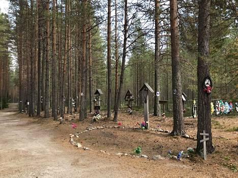 Sandarmohin metsästä on löytynyt 236 joukkohautaa.