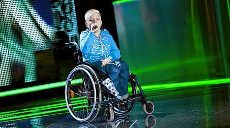 Voice Kidsin Niilo Turunen oli syksyn kuntoutuksessa.