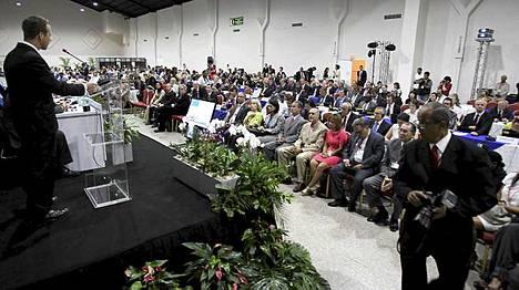 Kansainvälinen valaanpyyntikomissio kokoontui Panamassa.