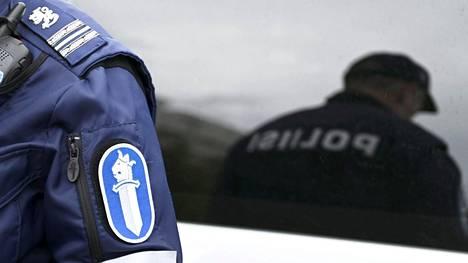 Poliisin mukaan miehen kyydissä oli yksi matkustaja. Aihekuva.