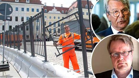 Björn Wahlroos ja Matti Apunen osallistuvat Bilderberg-kokoukseen Saksassa.