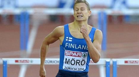 Oskari Möröllä on perjantai-iltana edessään uransa kenties kovin juoksu.