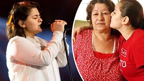 Äiti kannusti Joli Malkia aina laulamaan.
