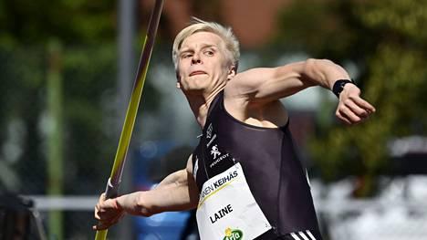 Topias Laine heitti nuorten Euroopan mestariksi.