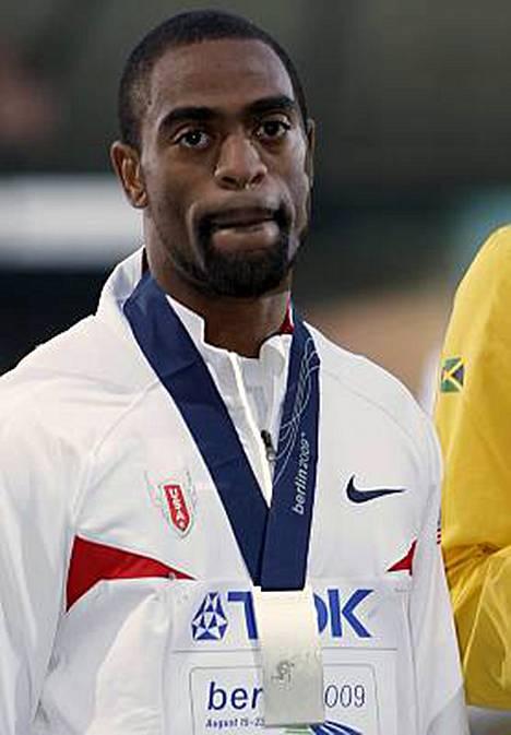 Tyson Gay pokkasi maanantaina 100 metrin MM-hopeansa. 200 metrin matkalta hän ei menestystä tavoittele.