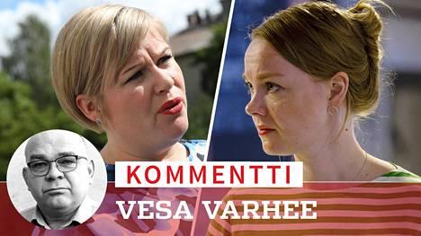 Annika Saarikon ja Katri Kulmunin vetämä keskustan puheenjohtajakisa olisi normaalioloissa tervetullutta poliittista viihdettä. Nyt Suomen kokonaistilanne on kuitenkin niin vakava, että ottelua toivoisi peruutettavaksi, kirjoittaa Vesa Varhee.