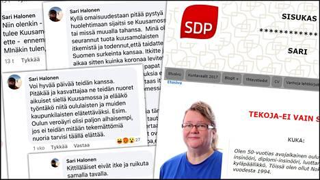 Oulun kaupunginvaltuutettu Sari Halonen aikoo suunnata lomapaikkaansa Kuusamoon, koska haluaa omaisuudelleen käyttöä.