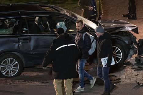 Elokuvaa kuvattiin marraskuussa Helsingin Töölönlahdella.