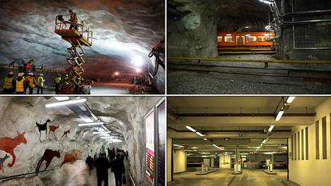 Helsingissä on mittava tunneliverkosto. The Wall Street Journalin mukaan tunneliverkoston tarkoituksena on turvata hallinnon toiminta sota-aikana.
