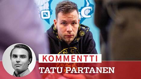 """Aleksi """"allu"""" Jalli heitettiin tylysti bussin alle kesken suoran haastattelun. ENCEn tilanne on huolestuttavan paha, kirjoittaa toimittaja Tatu Partanen."""