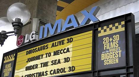Maailman suurin imax-teatteri on hieno, mutta kallis.