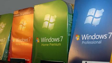 Windows 7 julkaistiin vuonna 2009.