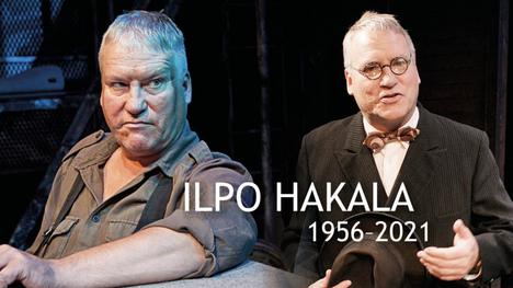 Ilpo Hakala oli mukana kymmenissä näytelmissä ja musikaaleissa.