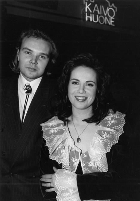 Markku Impiö ja Kaija Koo vuonna 1994, kun suosio oli huipussaan.