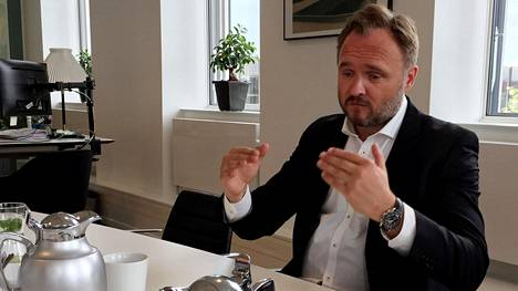Tanskan ilmasto- ja energiaministeri Dan Jørgensen.