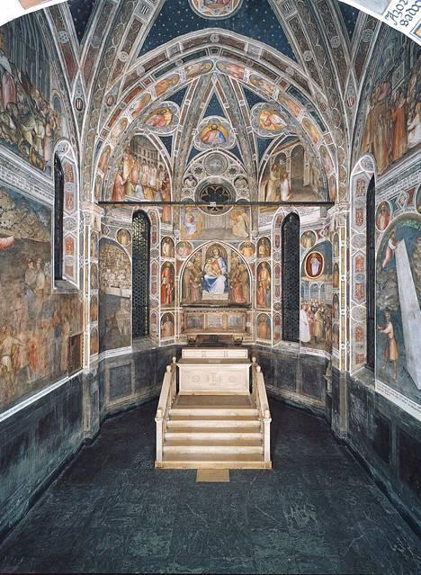 Pohjois-Italian Padovan 1300-luvun freskot nousivat Unescon listalle. Kuvassa Antonius Padovalaisen basilika Padovassa.