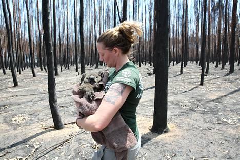 Australian maastopaloissa myös eläimet kärsivät.