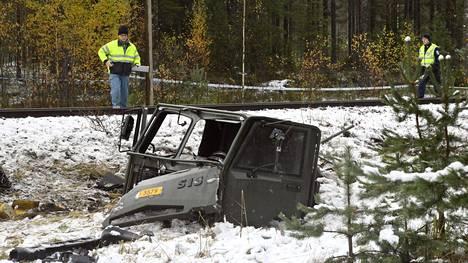 Onnettomuus sattui Raaseporissa lokakuussa 2017.