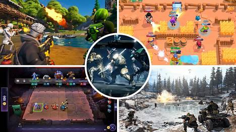 Muun muassa Fortnite, Warframe, Super Brawl, Dota Underlords ja Call of Duty: Warzone ovat kaikki pelattavissa ilmaiseksi.