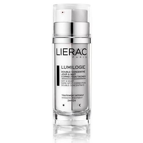 Lieracin uutuudessa on kaksi eri hoitotuotetta: päivä- ja yötiiviste. Ne vaikuttavat vasta kehittymässä oleviin, jo näkyviin sekä vaikeisiin, pitkäaikaisiin pigmenttimuutoksiin. Päivätiiviste ehkäisee värimuutosten syntyä, ja ihoa kuoriva yötiiviste aktivoi solujen uusiutumista. 43,60 € / 30 ml.