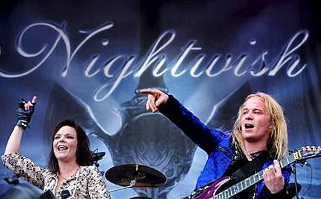 Nightwishin keikka on Ruisrockissa jo tänään perjantaina.