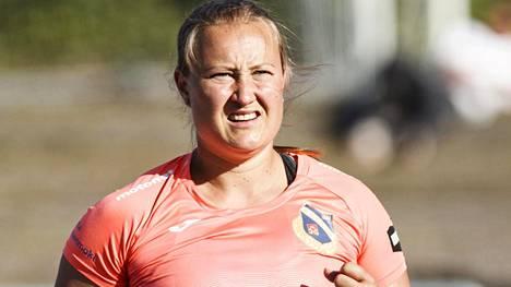 Heidi Nokelaisella on kauden kärkitulos, mutta Kalevan kisoissa heitto ei kulkenut.