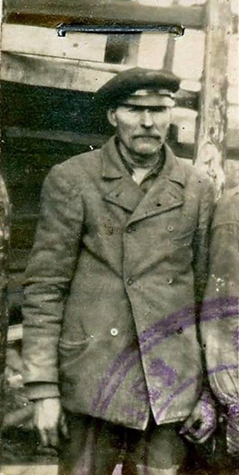 Puun ensimmäinen omistaja Otto Jaakkonen.