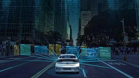 Hyundai Nexon onnistunut testiajo oli vasta alkua: Itsestään ajaviin autoihin lisää älyä
