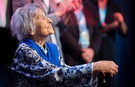 Nykyisin 105-vuotias Pomsel ei myönnä olleensa osavastuussa Natsi-Saksan teoista.