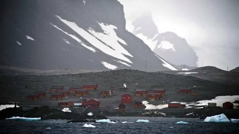 Argentiinan omistama Esperanzan tutkimusasema Etelämantereella. Asemalla mitattiin torstaina Etelämantereen mittaushistorian korkein lämpötila.