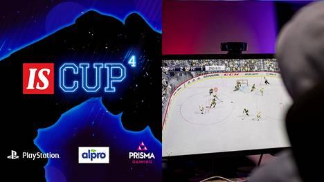 IS Cup 4:ssä pelataan NHL-pelin eli änärin 6vs6-pelitilaa.