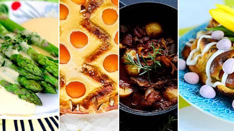 45 reseptiä pääsiäiseen: Ihanat jälkiruoat, mureat lammasohjeet ja muut herkut