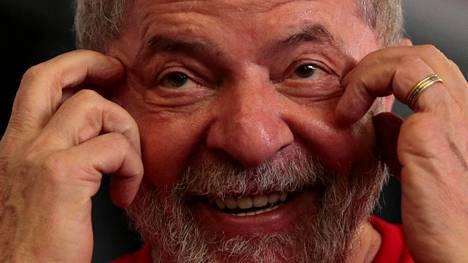 Brasilian entinen presidentti Luiz Inacio Lula da Silva haluaa uudestaan presidentiksi vamkeustuomiostaan huolimatta.