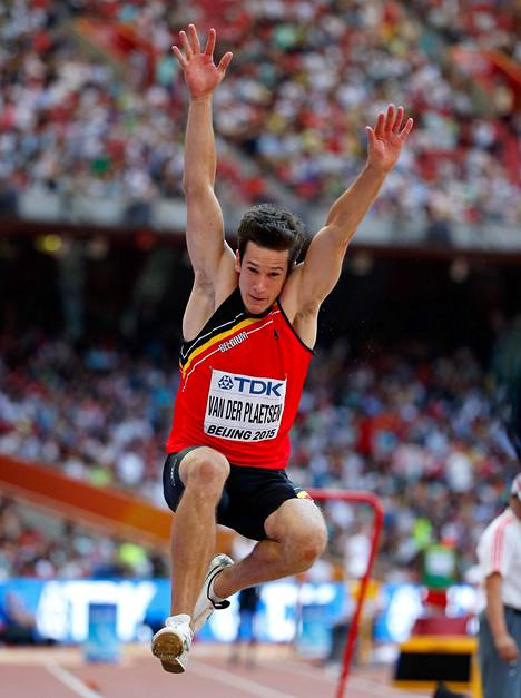 Thomas van der Plaetsen valittiin Belgian Vuoden urheilijaksi 2014.