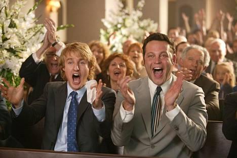 Oweln Wilson ja Vince Vaughn ei-toivottuina häävieraina.