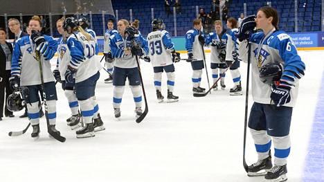 Suomen pelaajat joutuivat pettymään.