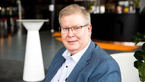 Ilveksen puheenjohtaja Kari Pansio.