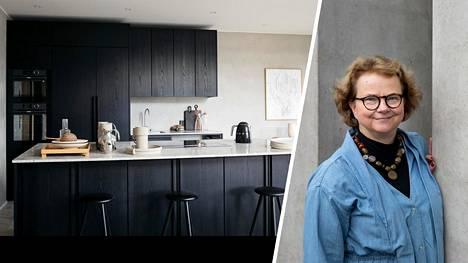 Milloin keittiö jäi pois muodista? Helsinkiläinen historiantutkija Laura Kolbe ei ole innostunut avokeittiötrendistä.
