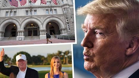Trumpin perheyritys on monen muun yrityksen tavoin saanut koronapandemiassa kolhuja.