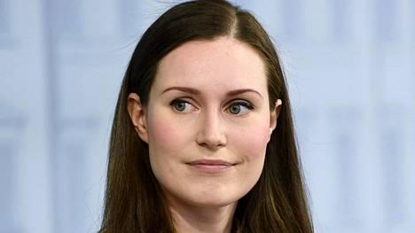 Pääministeri Sanna Marin hallituksen lapsille järjestämässä koronavirusta koskevassa tiedotustilaisuudessa Helsingissä 24. huhtikuuta 2020.
