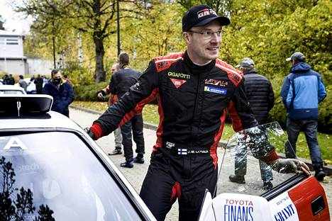 Jari-Matti Latvala osallistui Kerava-ralliin lauantaina 24. lokakuuta.