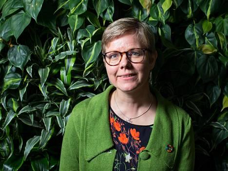 Ympäristöministeri Krista Mikkonen (vihr).