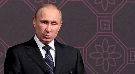 Vladimir Putin jätti esityksensä armahduslaista parlamentin käsittelyyn alkuviikolla.