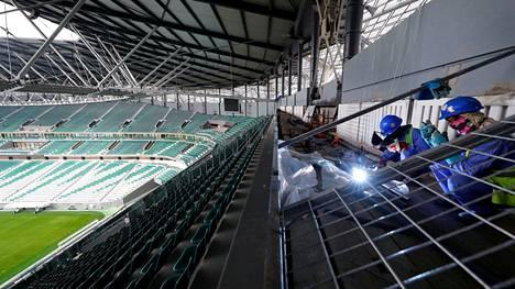 Education City -stadion ei valmistunut ajoissa seurajoukkueiden MM-kisoihin.