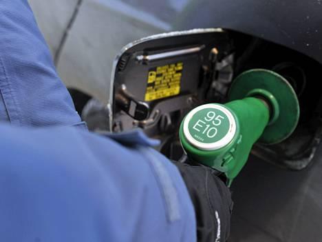95 E10 -bensiini tuli Suomen markkinoille viime vuonna.