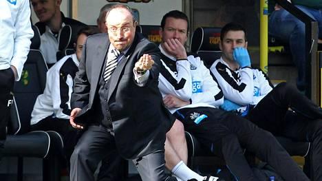 Rafael Benitez on Newcastlen manageri.