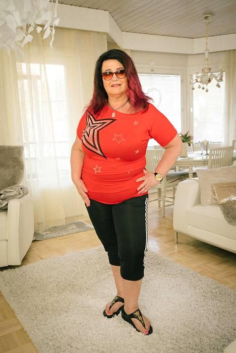 Meiju Suvas pudotti Olet mitä syöt -ohjelmassa 9 kiloa painostaan.