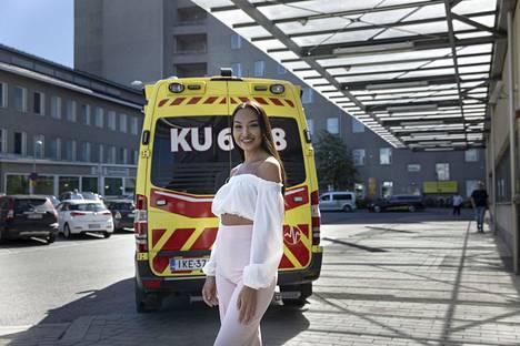 Katrie Daler suunnittelee opiskelevansa vielä hätäkeskuspäivystäjäksi siltä varalta, jos hän ei tulevaisuudessa voisi enää tehdä fyysistä työtä ensihoitajana.